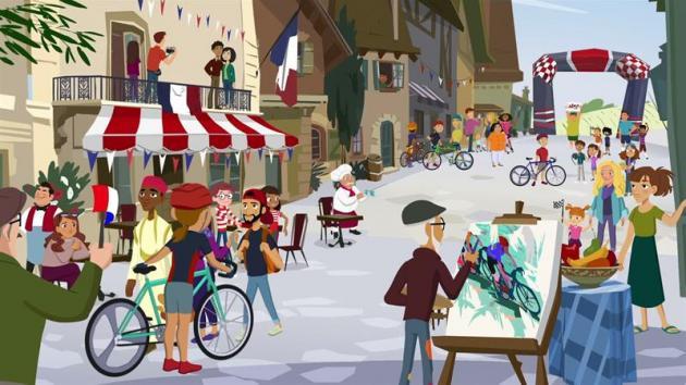 Waldo's Bike Tour in Paris