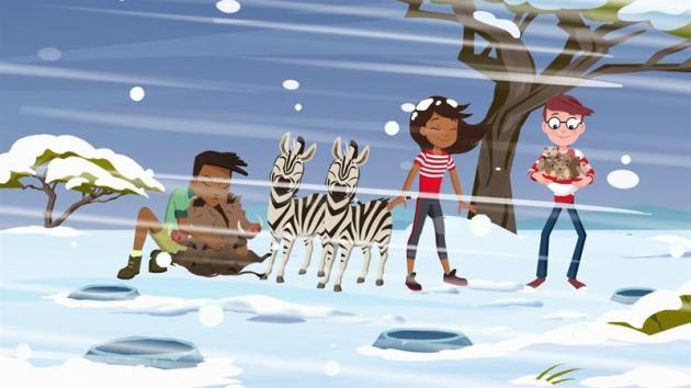 Waldo Sleds in Zimbabwe